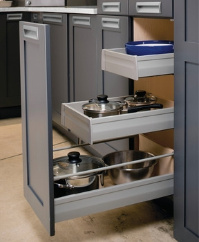 Hafele Double Wall Systems-Accessories